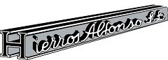 Logotipo Hierros Alfonso