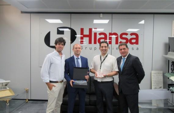 Grupo Hierros Alfonso galardonado por Hiansa